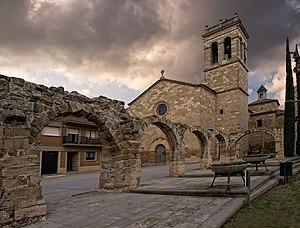 Anglesola - Plaça de l'Església, Anglesola