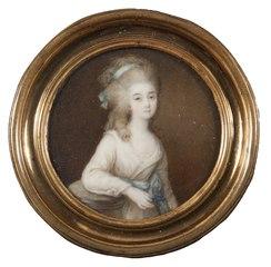 Anne Flore Millet, 1749-1826, g de Brehan, markisinna