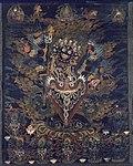 Anonymous - Painted Banner (Thangka) with Guru Dragpur, a Wrathful Form of Padmasambhava - 1996.85 - Art Institute of Chicago.jpg