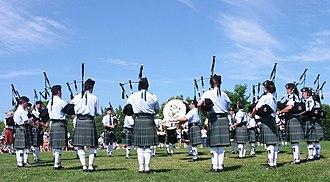 Antigonish, Nova Scotia - Image: Antigonish 2005 78th citadel