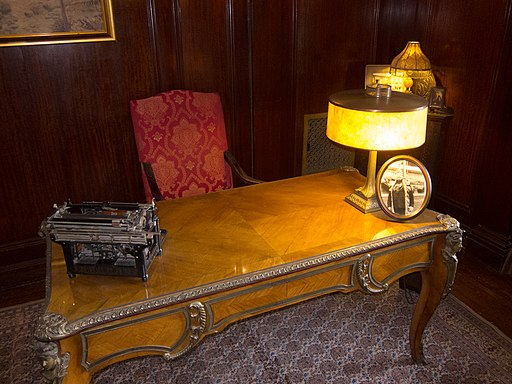 Antique writing desk - Casa Loma