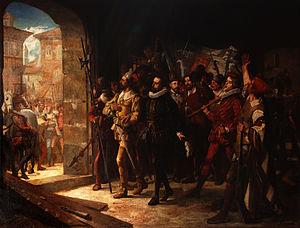 Antonio Pérez (statesman) - Antonio Perez released by the Aragonese town in 1591.