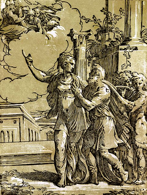 Antonio da Trento - The Tiburtine sibyl and the Emperor Augustus.jpg