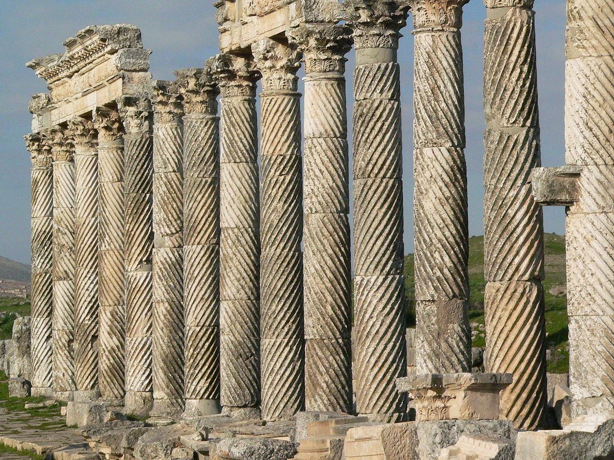 Fluting architecture wikipedia for Architectural columns