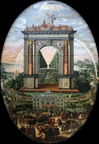 Isaak van den Blocke - Detail of the Apotheosis of Danzig