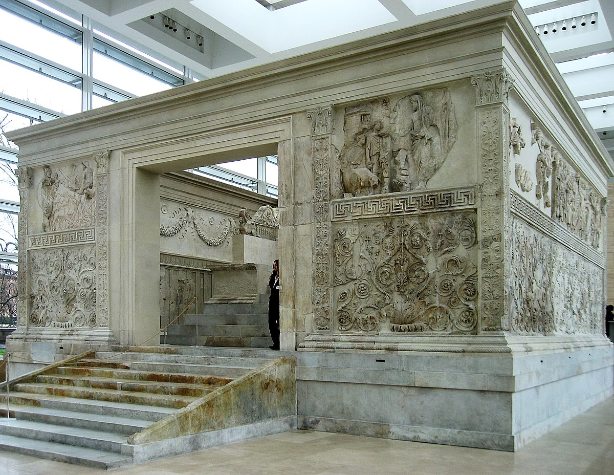 Ara pacis wikipedia la enciclopedia libre for E case del sater
