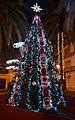 Arbre de Nadal a la plaça de Benipeixcar.JPG