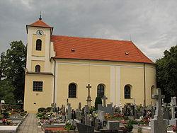 Archlebov - kostel svatého Rocha a svatého Šebestiána.JPG