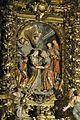 Arenys de Mar. Parish Church. Altarpiece dedicated to the Assumption of the Virgin Mary. Visitation of Mary with Elizabeth. 1706-1712. Pau Costa, sculptor (26488212785).jpg