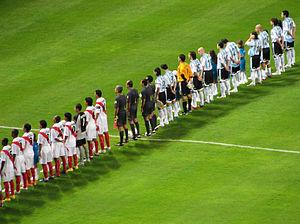 Argentina and Peru%2C Copa America 2007