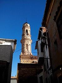 Ariño Teruel Torre de la iglesia del Salvador (2).jpg