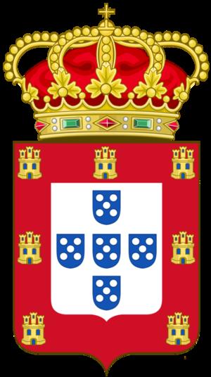 Cadency - Image: Armas rei portugal