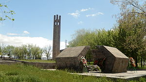 Vedi - Genocide memorial in Vedi erected in 1977