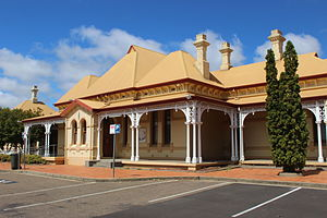 Armidale, New South Wales - Armidale railway station opened in 1883.