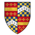 Arms of Sir Thomas de Beauchamp, 11th Earl of Warwick, KG.png