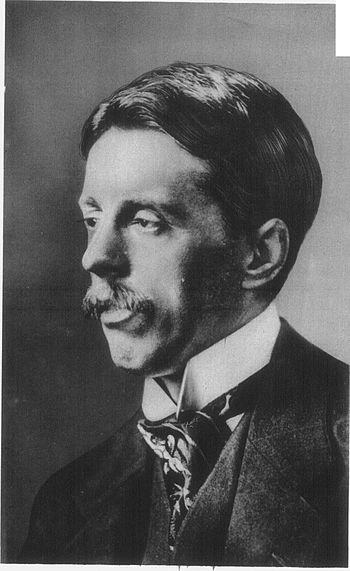Arnold Bennett, author of Anna of the Five Tow...