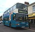 Arriva bus 7416 Volvo Olympian Northern Counties Palatine II P416 CCU in North Shields 9 May 2009.jpg