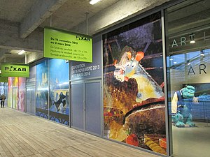 Art Ludique - The Museum, during the Pixar Exhibition.