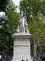 Arts & sciences statue, Cours Mirabeau.JPG