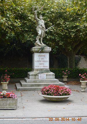 Arzens - Arzens War Memorial