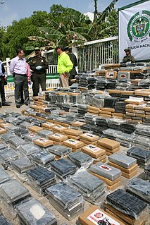 Illegal drug trade in Colombia