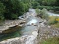 Asasp-Arros (Pyr-Atl, Fr) confluence Gave de Lourdios - Gave d'Aspe.JPG