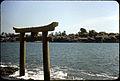 Ashiya-machi, Fukuoka Prefecture - Torii At Coast.jpg