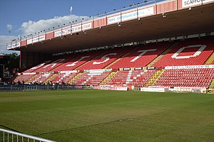 2013–14 Football League One - Image: Ashton Gate Stadium (daytime)