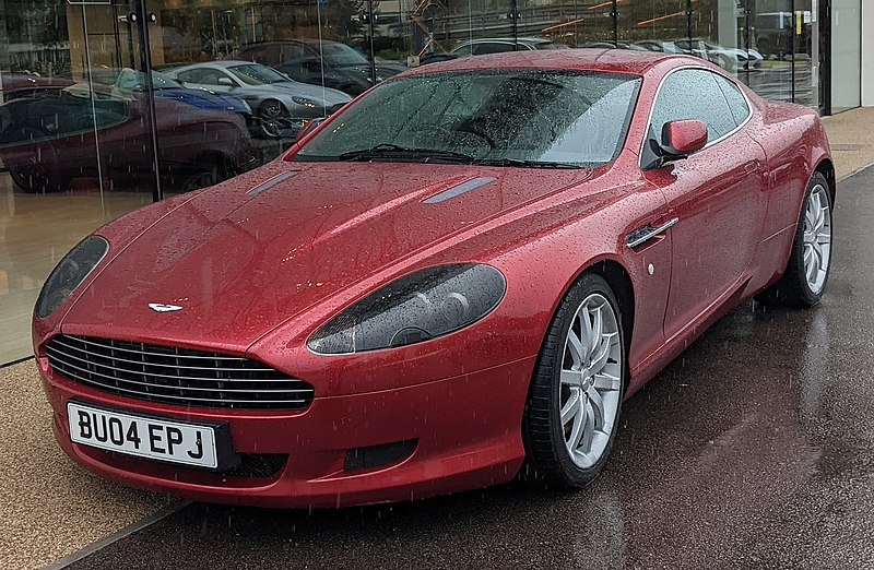 own: Aston Martin V12 Vanquish