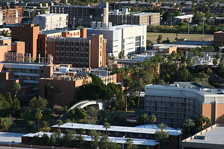 The campus of ASU from Tempe Butte in nearby Tempe Asu campus 1.jpg