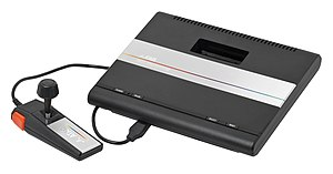 Atari 7800 System (American system with joystick controller)