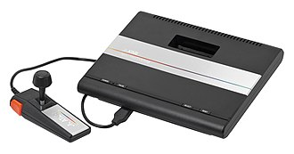 Atari 7800 - Atari 7800 System (American system with joystick controller)