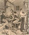 Atelier parisien de fabrication de masques 1897.jpg
