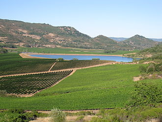 Atlas Peak AVA - Image: Atlas Peak vineyards Napa Valley