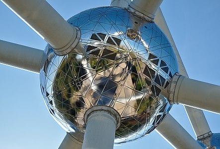 Atomium central sphere