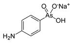 Strukturformel von Atoxyl