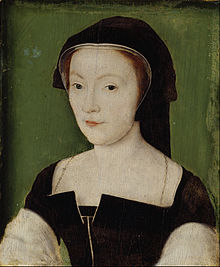 Attributed to Corneille de Lyon - Mary of Guise, 1515 - 1560. Queen of James V - Google Art Project.jpg