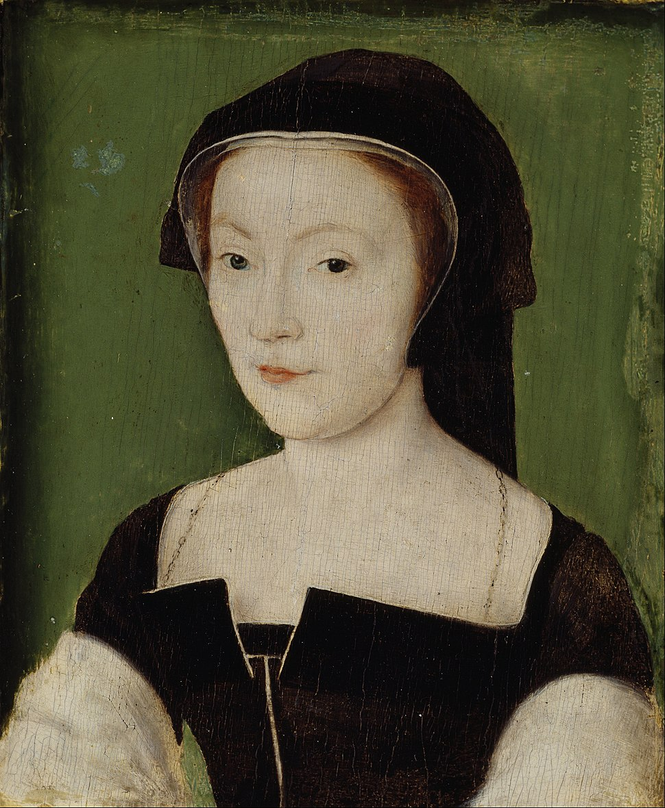 Attributed to Corneille de Lyon - Mary of Guise, 1515 - 1560. Queen of James V - Google Art Project