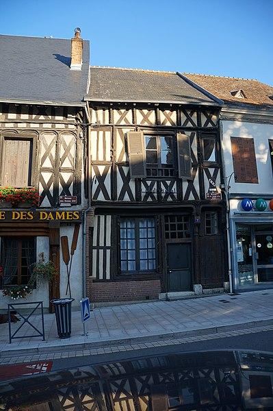 Maison de Jeanne d'Arc Aubigny-sur-Nère|  Cher (département), France