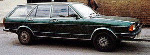 Audi 80 - Audi 80 (B1) estate (facelift)