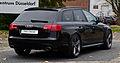 Audi RS 6 Avant (C6) – Heckansicht (2), 26. Oktober 2012, Düsseldorf.jpg