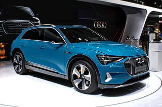 EV SUV by Audi, production vehicle