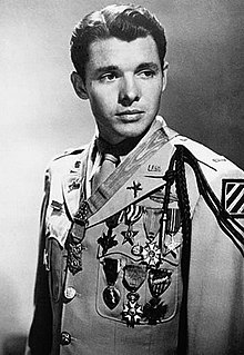 Audie Murphy honors and awards - Wikipedia