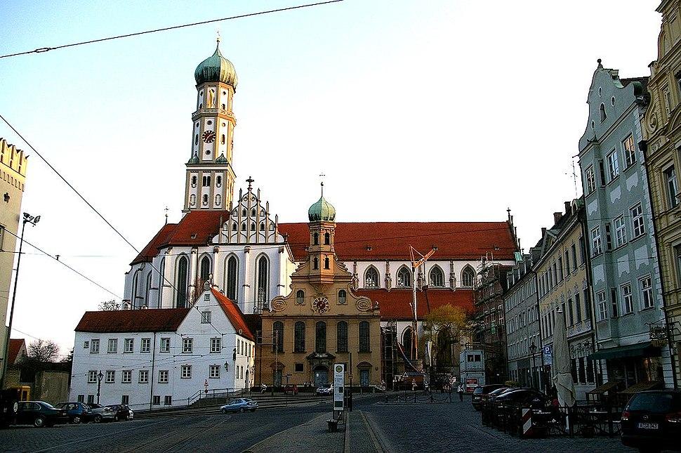 Augsburg - st ulrich u afra