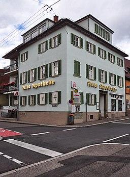 Augsburger Straße 383 (Stuttgart-Untertürkheim) Südwest- und Südostfassade