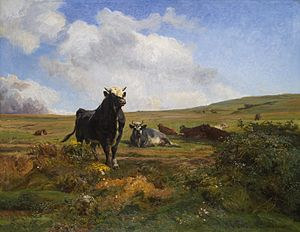 Auguste Bonheur - Image: Auguste Bonheur Chef de la harde