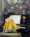Augustins - Jeune femme au piano - François Gauzi (RO 1035).jpg