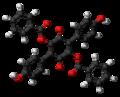 Aurantiacin 3D ball.png