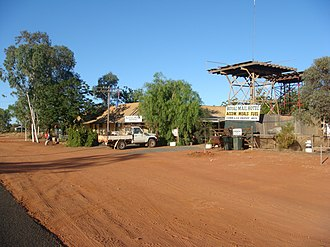 Hungerford, Queensland - The view around the Royal Mail Hotel