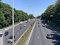 Autoroute A1 vue depuis Pont Avenue John Fitzgerald Kennedy Bourget 2.jpg